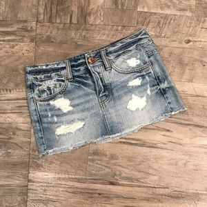 Womens Garage NWT Denim Skirt